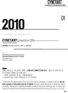 Anmeldeformular CYNETART 2010 (.pdf)