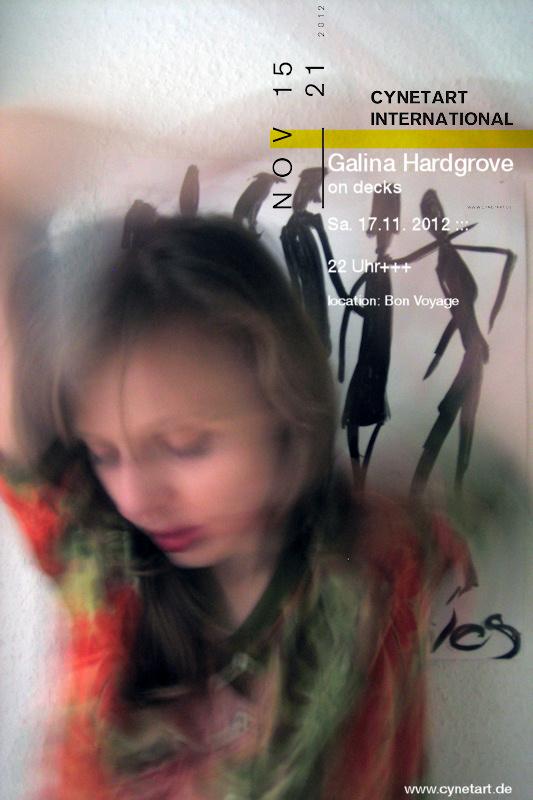 Galina Hardgrove am 17.11. zur CYNETART 2012