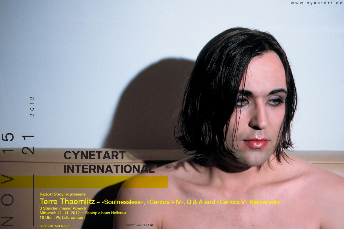 Terre Thaemlitz zur CYNETART 2012